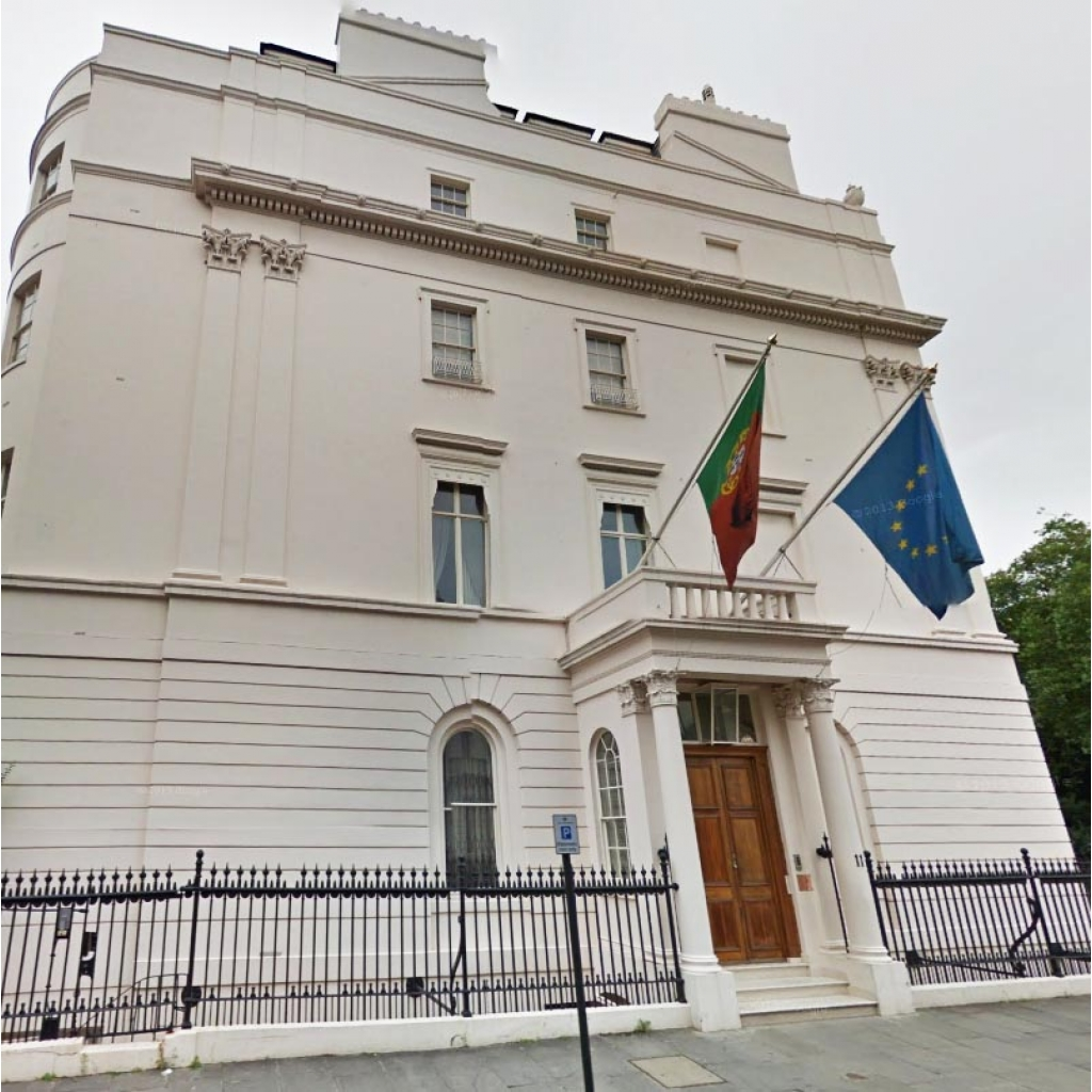 Image Result For Portuguese Embassy London